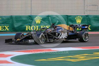 World © Octane Photographic Ltd. Formula 1 – Abu Dhabi GP - Practice 2. Haas F1 Team VF19 – Romain Grosjean. Yas Marina Circuit, Abu Dhabi, UAE. Friday 29th November 2019.