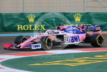 World © Octane Photographic Ltd. Formula 1 – Abu Dhabi GP - Practice 2. SportPesa Racing Point RP19 - Sergio Perez. Yas Marina Circuit, Abu Dhabi, UAE. Friday 29th November 2019.