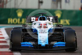 World © Octane Photographic Ltd. Formula 1 – Abu Dhabi GP - Practice 2. ROKiT Williams Racing FW 42 – George Russell. Yas Marina Circuit, Abu Dhabi, UAE. Friday 29th November 2019.