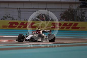 World © Octane Photographic Ltd. Formula 1 – Abu Dhabi GP - Practice 2. Alfa Romeo Racing C38 – Antonio Giovinazzi. Yas Marina Circuit, Abu Dhabi, UAE. Friday 29th November 2019.