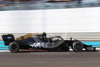 World © Octane Photographic Ltd. Formula 1 – Abu Dhabi GP - Practice 3. Haas F1 Team VF19 – Kevin Magnussen. Yas Marina Circuit, Abu Dhabi, UAE. Saturday 30th November 2019.