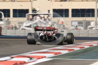 World © Octane Photographic Ltd. Formula 1 – Abu Dhabi GP - Practice 3. Alfa Romeo Racing C38 – Antonio Giovinazzi. Yas Marina Circuit, Abu Dhabi, UAE. Saturday 30th November 2019.