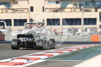 World © Octane Photographic Ltd. Formula 1 – Abu Dhabi GP - Practice 3. Mercedes AMG Petronas Motorsport AMG F1 W10 EQ Power+ - Lewis Hamilton. Yas Marina Circuit, Abu Dhabi, UAE. Saturday 30th November 2019.