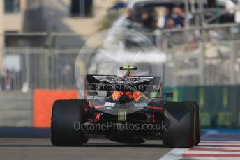 World © Octane Photographic Ltd. Formula 1 – Abu Dhabi GP - Practice 3. Aston Martin Red Bull Racing RB15 – Alexander Albon. Yas Marina Circuit, Abu Dhabi, UAE. Saturday 30th November 2019.