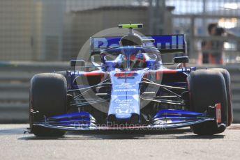 World © Octane Photographic Ltd. Formula 1 – Abu Dhabi GP - Practice 3. Scuderia Toro Rosso STR14 – Pierre Gasly. Yas Marina Circuit, Abu Dhabi, UAE. Saturday 30th November 2019.