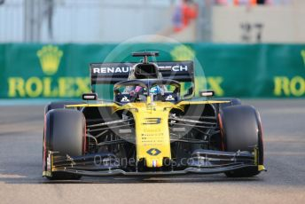 World © Octane Photographic Ltd. Formula 1 – Abu Dhabi GP - Practice 3. Renault Sport F1 Team RS19 – Daniel Ricciardo. Yas Marina Circuit, Abu Dhabi, UAE. Saturday 30th November 2019.