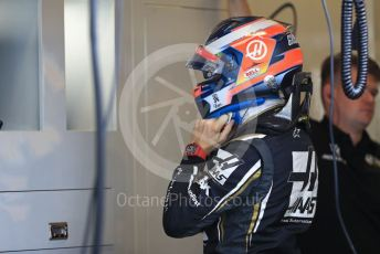 World © Octane Photographic Ltd. Formula 1 – Abu Dhabi GP - Practice 3. Haas F1 Team VF19 – Romain Grosjean. Yas Marina Circuit, Abu Dhabi, UAE. Saturday 30th November 2019.