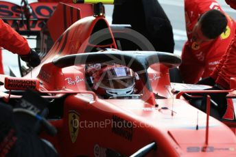 World © Octane Photographic Ltd. Formula 1 – Abu Dhabi GP - Practice 3. Scuderia Ferrari SF90 – Charles Leclerc. Yas Marina Circuit, Abu Dhabi, UAE. Saturday 30th November 2019.