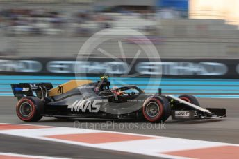 World © Octane Photographic Ltd. Formula 1 – Abu Dhabi GP - Qualifying. Haas F1 Team VF19 – Kevin Magnussen. Yas Marina Circuit, Abu Dhabi, UAE. Saturday 30th November 2019.