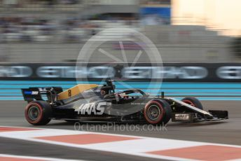 World © Octane Photographic Ltd. Formula 1 – Abu Dhabi GP - Qualifying. Haas F1 Team VF19 – Romain Grosjean. Yas Marina Circuit, Abu Dhabi, UAE. Saturday 30th November 2019.