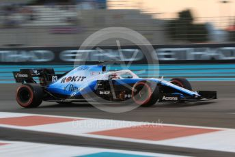 World © Octane Photographic Ltd. Formula 1 – Abu Dhabi GP - Qualifying. ROKiT Williams Racing FW 42 – George Russell. Yas Marina Circuit, Abu Dhabi, UAE. Saturday 30th November 2019.