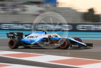 World © Octane Photographic Ltd. Formula 1 – Abu Dhabi GP - Qualifying. ROKiT Williams Racing FW42 – Robert Kubica. Yas Marina Circuit, Abu Dhabi, UAE. Saturday 30th November 2019.