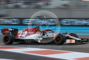 World © Octane Photographic Ltd. Formula 1 – Abu Dhabi GP - Qualifying. Alfa Romeo Racing C38 – Antonio Giovinazzi. Yas Marina Circuit, Abu Dhabi, UAE. Saturday 30th November 2019.