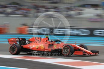 World © Octane Photographic Ltd. Formula 1 – Abu Dhabi GP - Qualifying. Scuderia Ferrari SF90 – Charles Leclerc. Yas Marina Circuit, Abu Dhabi, UAE. Saturday 30th November 2019.