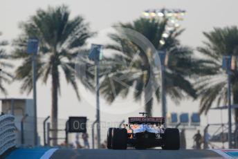 World © Octane Photographic Ltd. Formula 1 – Abu Dhabi GP - Race. McLaren MCL34 – Carlos Sainz. Yas Marina Circuit, Abu Dhabi, UAE. Sunday 1st December 2019.