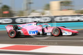 World © Octane Photographic Ltd. FIA Formula 2 (F2) – Abu Dhabi GP - Practice. BWT Arden - Tatiana Calderon. Yas Marina Circuit, Abu Dhabi, UAE. Friday 29th November 2019.