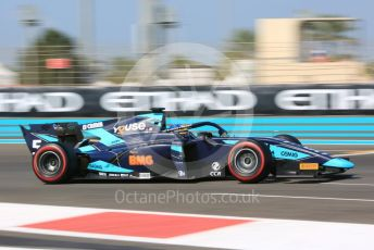 World © Octane Photographic Ltd. FIA Formula 2 (F2) – Abu Dhabi GP - Practice. DAMS - Sergio Sette Camara. Yas Marina Circuit, Abu Dhabi, UAE. Friday 29th November 2019.