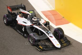 World © Octane Photographic Ltd. FIA Formula 2 (F2) – Abu Dhabi GP - Qualifying. ART Grand Prix - Nyck de Vries. Yas Marina Circuit, Abu Dhabi, UAE. Friday 29th November 2019.