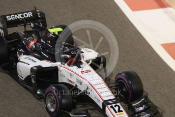 World © Octane Photographic Ltd. FIA Formula 2 (F2) – Abu Dhabi GP - Qualifying. Sauber Junior Team – Matevos Isaakyan.  Yas Marina Circuit, Abu Dhabi, UAE. Friday 29th November 2019.