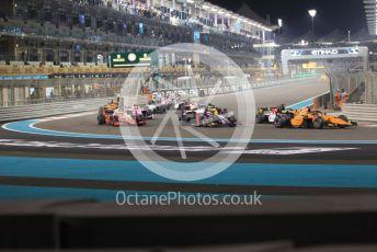 World © Octane Photographic Ltd. FIA Formula 2 (F2) – Abu Dhabi GP - Race 1. Campos Racing - Jack Aitken. Yas Marina Circuit, Abu Dhabi, UAE. Saturday 30th November 2019.