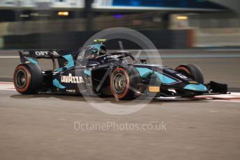 World © Octane Photographic Ltd. FIA Formula 2 (F2) – Abu Dhabi GP - Race 1. DAMS - Nicholas Latifi. Yas Marina Circuit, Abu Dhabi, UAE. Saturday 30th November 2019.