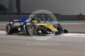 World © Octane Photographic Ltd. FIA Formula 2 (F2) – Abu Dhabi GP - Race 1. Virtuosi Racing - George Russell. Yas Marina Circuit, Abu Dhabi, UAE. Saturday 30th November 2019.