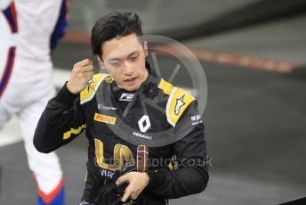 World © Octane Photographic Ltd. FIA Formula 2 (F2) – Abu Dhabi GP - Race 1. Virtuosi Racing - Guanyu Zhou. Yas Marina Circuit, Abu Dhabi, UAE. Saturday 30th November 2019.