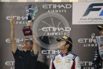 World © Octane Photographic Ltd. FIA Formula 2 (F2) – Abu Dhabi GP - Race 1. DAMS team boss - Francois Sicard. Yas Marina Circuit, Abu Dhabi, UAE. Saturday 30th November 2019.