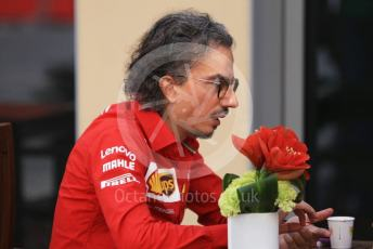 World © Octane Photographic Ltd. Formula 1 - Abu Dhabi GP - Paddock. Laurent Mekies – Sporting Director of Scuderia Ferrari. Yas Marina Circuit, Abu Dhabi, UAE. Saturday 30th November 2019.