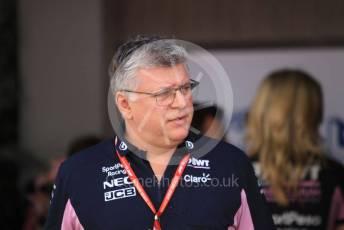 World © Octane Photographic Ltd. Formula 1 - Abu Dhabi GP - Paddock. Otmar Szafnauer - Team Principal of SportPesa Racing Point. Yas Marina Circuit, Abu Dhabi, UAE. Saturday 30th November 2019.