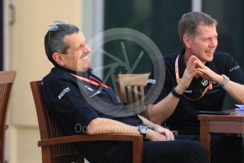 World © Octane Photographic Ltd. Formula 1 - Abu Dhabi GP - Paddock. Guenther Steiner - Team Principal of Haas F1 Team. Yas Marina Circuit, Abu Dhabi, UAE. Saturday 30th November 2019.