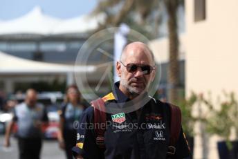 World © Octane Photographic Ltd. Formula 1 - Abu Dhabi GP - Paddock. Adrian Newey - Chief Technical Officer of Red Bull Racing. Yas Marina Circuit, Abu Dhabi, UAE. Saturday 30th November 2019.