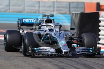 World © Octane Photographic Ltd. Formula 1 – Abu Dhabi Pirelli Tyre Test. Mercedes AMG Petronas Motorsport AMG F1 W10 EQ Power+ - Valtteri Bottas. Yas Marina Circuit, Abu Dhabi, UAE. Tuesday 3rd December 2019.