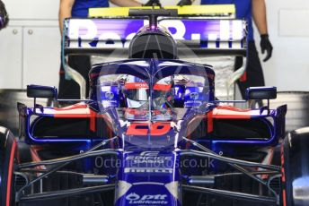 World © Octane Photographic Ltd. Formula 1 – Abu Dhabi Pirelli Tyre Test. Scuderia Toro Rosso STR14 – Daniil Kvyat. Yas Marina Circuit, Abu Dhabi, UAE. Tuesday 3rd December 2019.