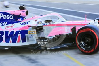 World © Octane Photographic Ltd. Formula 1 – Abu Dhabi Pirelli Tyre Test. SportPesa Racing Point RP19 - Sergio Perez. Yas Marina Circuit, Abu Dhabi, UAE. Tuesday 3rd December 2019.
