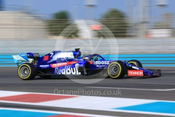 World © Octane Photographic Ltd. Formula 1 – Abu Dhabi Pirelli Tyre Test. Scuderia Toro Rosso STR14 – Sean Galeal. Yas Marina Circuit, Abu Dhabi, UAE. Tuesday 3rd December 2019.