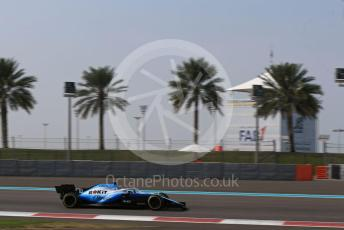 World © Octane Photographic Ltd. Formula 1 – Abu Dhabi Pirelli Tyre Test. ROKiT Williams Racing FW 42 – George Russell. Yas Marina Circuit, Abu Dhabi, UAE. Tuesday 3rd December 2019.