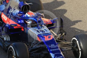 World © Octane Photographic Ltd. Formula 1 – Abu Dhabi Pirelli Tyre Test. Scuderia Toro Rosso STR14 – Pierre Gasly. Yas Marina Circuit, Abu Dhabi, UAE. Wednesday 4th December 2019.