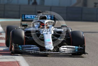 World © Octane Photographic Ltd. Formula 1 – Abu Dhabi Pirelli Tyre Test. Mercedes AMG Petronas Motorsport AMG F1 W10 EQ Power+ – George Russell. Yas Marina Circuit, Abu Dhabi, UAE. Wednesday 4th December 2019.
