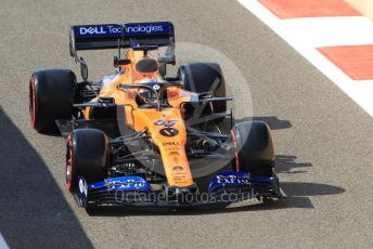 World © Octane Photographic Ltd. Formula 1 – Abu Dhabi Pirelli Tyre Test. McLaren MCL34 – Carlos Sainz. Yas Marina Circuit, Abu Dhabi, UAE. Wednesday 4th December 2019.