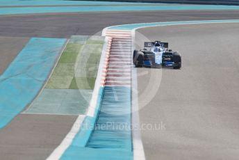 World © Octane Photographic Ltd. Formula 1 – Abu Dhabi Pirelli Tyre Test. ROKiT Williams Racing FW 42 - Nicholas Latifi. Yas Marina Circuit, Abu Dhabi, UAE. Wednesday 4th December 2019.