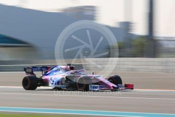 World © Octane Photographic Ltd. Formula 1 – Abu Dhabi Pirelli Tyre Test. SportPesa Racing Point RP19 – Lance Stroll. Yas Marina Circuit, Abu Dhabi, UAE. Wednesday 4th December 2019.