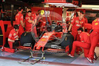 World © Octane Photographic Ltd. Formula 1 – Abu Dhabi Pirelli Tyre Test. Scuderia Ferrari SF90 – Charles Leclerc. Yas Marina Circuit, Abu Dhabi, UAE. Wednesday 4th December 2019.