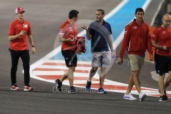 World © Octane Photographic Ltd. Formula 1 – Abu Dhabi GP - Track Walk. Prema Powerteam - Mick Schumacher. Yas Marina Circuit, Abu Dhabi, UAE. Thursday 28th November 2019.