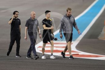 World © Octane Photographic Ltd. Formula 2 (F2) – Abu Dhabi GP - Track Walk. Jack Aitkenl. Yas Marina Circuit, Abu Dhabi, UAE. Thursday 28th November 2019.