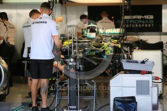 World © Octane Photographic Ltd. Formula 1 – Abu Dhabi GP - Setup. Mercedes AMG Petronas Motorsport AMG F1 W10 EQ Power+ - Lewis Hamilton. Yas Marina Circuit, Abu Dhabi, UAE. Thursday 28th November 2019.