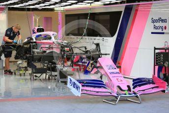 World © Octane Photographic Ltd. Formula 1 – Abu Dhabi GP - Setup. SportPesa Racing Point RP19 - Sergio Perez. Yas Marina Circuit, Abu Dhabi, UAE. Thursday 28th November 2019.
