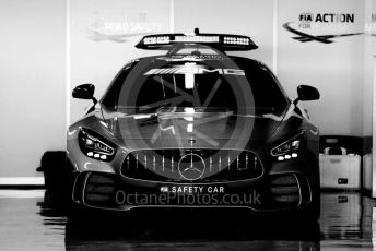 World © Octane Photographic Ltd. Formula 1 – Abu Dhabi GP - Setup. Mercedes AMG GTs Safety Car. Yas Marina Circuit, Abu Dhabi, UAE. Thursday 28th November 2019.