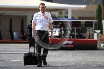World © Octane Photographic Ltd. Formula 1 - Abu Dhabi GP - Paddock. Andrea Stella – Performance Director of McLaren. Yas Marina Circuit, Abu Dhabi, UAE. Thursday 28th November 2019.