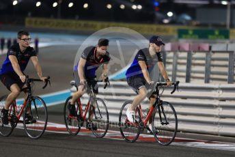 World © Octane Photographic Ltd. Formula 1 – Abu Dhabi GP - Track Walk. Scuderia Toro Rosso STR14 – Pierre Gasly. Yas Marina Circuit, Abu Dhabi, UAE. Thursday 28th November 2019.